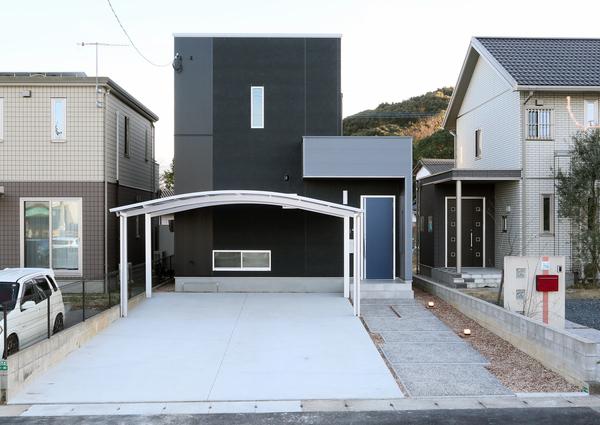 おしゃれな外観×開放的な内装のお家